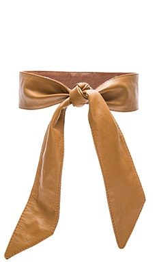 Lovers + Friends Maricopa Belt in Whiskey