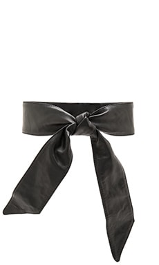 Lovers + Friends Maricopa Belt in Black