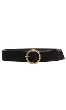 Lovers + Friends Mesa Belt in Black