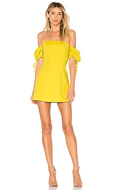 Alynna Sleeveless Mini Dress in Yellow. - size XS (also in L,M,S) The Jetset Diaries