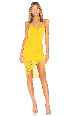 ROBE MIDI EN DENTELLE SKYLIGHT Lovers + Friends $74