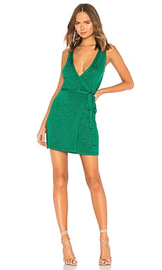 VESTIDO JERSEY WRAP UP Lovers + Friends $98