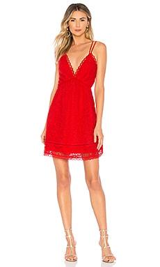 Купить Коктейльное платье levesque - Lovers + Friends, Мини, Китай, Красный