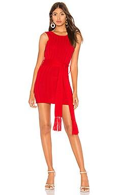 Фото - Платье свитер nancy - Lovers + Friends красного цвета