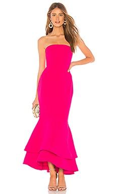 Фото - Платье миди dillion - Lovers + Friends розового цвета