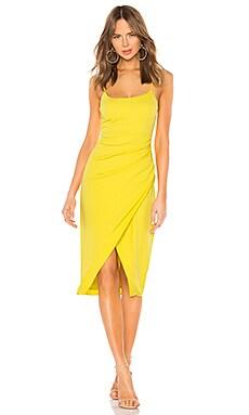 Genevieve Midi Dress Lovers + Friends $198 NEW ARRIVAL
