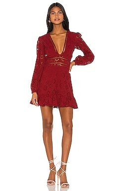 Jain Mini Dress Lovers + Friends $178 NEW ARRIVAL