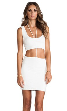 Lovers + Friends Take Me Out Dress in White