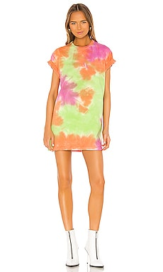 Tie Dye Tee Dress Lovers + Friends $140