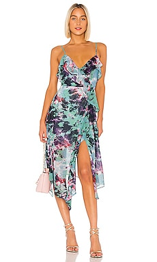 Haven Midi Dress Lovers + Friends $238 NEW ARRIVAL