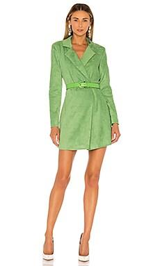 Платье-жакет charlie - Lovers + Friends, Зеленый, Мини
