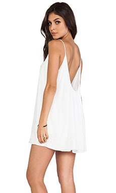 Fly Away Mini Dress in White