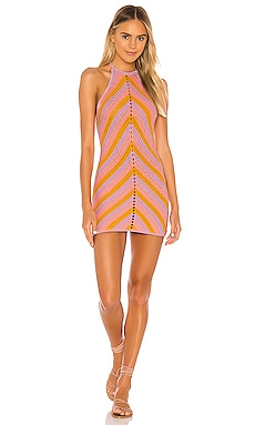 Equator Crochet Halter Dress Lovers + Friends $198