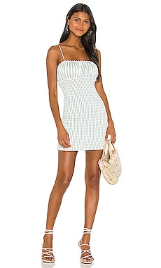 Cute as Can Be Mini Dress Lovers + Friends $198