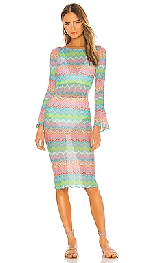 Lamanda Midi Dress Lovers + Friends $108
