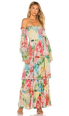 Hallie Maxi Dress Lovers + Friends $395