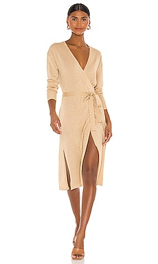 Azita Wrap Dress Lovers + Friends $178