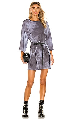 Lily Belted T-Shirt Dress Lovers + Friends $129