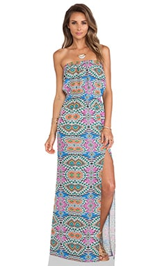 Lovers + Friends Dawn Maxi Dress in Mosaic