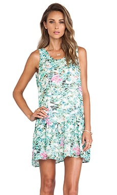 Lovers + Friends Barbados Babydoll Dress in Island Hop