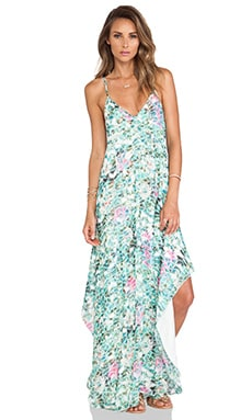 Lovers + Friends Curacao Slip Dress in Island Hop