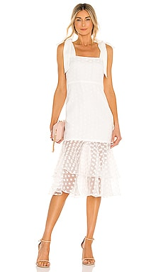 Day Keeper Midi Dress Lovers + Friends $258 NEW