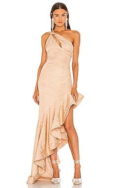 Heidi Gown Lovers + Friends $398 NEW