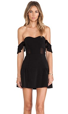 Lovers + Friends Sweet Somethings Dress in Black