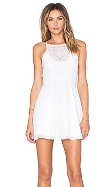 Catalina Fit & Flare Dress in Ivory