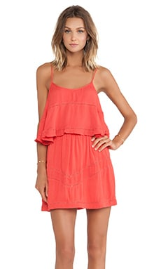 Lovers + Friends Paradise Bay Dress in Coral