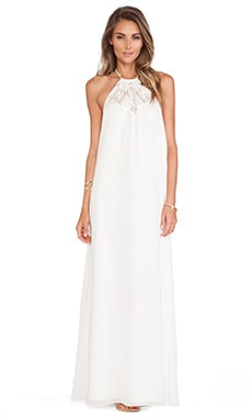 Lovers + Friends Mahalo Maxi Dress in Ivory