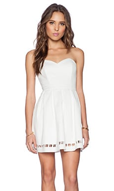Lovers + Friends Smitten Dress in Ivory