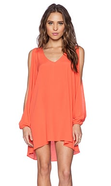 Lovers + Friends Gracie Dress in Terracota