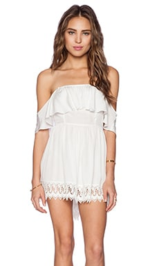 Lovers + Friends Dream Vacay Dress in Ivory