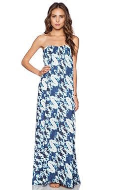 Lovers + Friends Savannah Maxi Dress in Tribal Water Dye