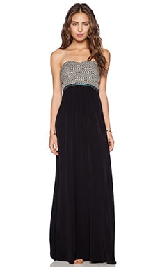Lovers + Friends Paloma Maxi Dress in Black