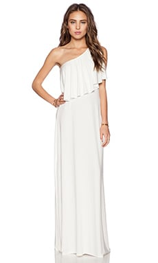 Lovers + Friends Rocio Maxi Dress in Ivory