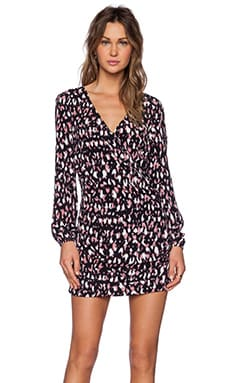 Lovers + Friends Joleen Dress in Night Animal