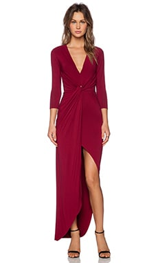 Lovers + Friends Sundance Maxi Dress in Wine
