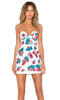 Lovers + Friends New Dawn Bodycon Dress in Tossed Bouquet