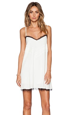Lovers + Friends x REVOLVE Bahia Babydoll Dress in Ivory