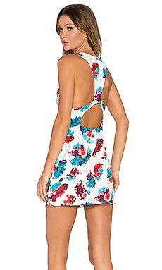 Lovers + Friends Jetset Bodycon Dress in Tossed Bouquet