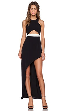 Lovers + Friends Eternity Maxi Dress in Black