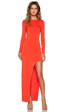 Lovers + Friends Lasting Impressions Dress in Red Orange