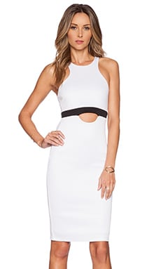 Lovers + Friends Marney Dress in Off White