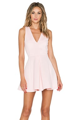 x REVOLVE Geneva Dress in Blush