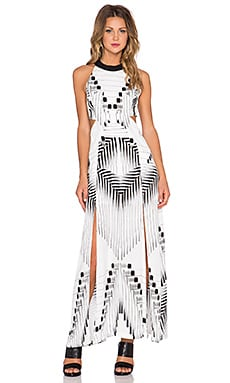 Lovers + Friends Float Away Maxi Dress in Print
