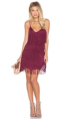 Lovers + Friends SU2C x REVOLVE Moon Dance Dress in Berry