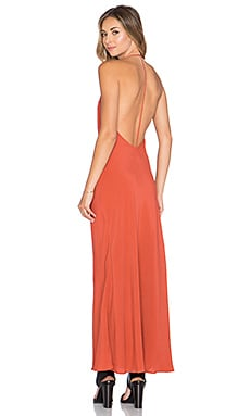 Lovers + Friends x REVOLVE T Strap Slip Dress in Burnt Orange