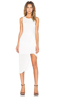 Lovers + Friends x REVOLVE Jenna Wrap Dress in Ivory